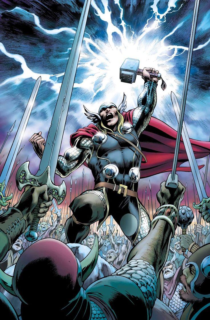 The Mighty Thor Vol.1 #19 - Alan Davis