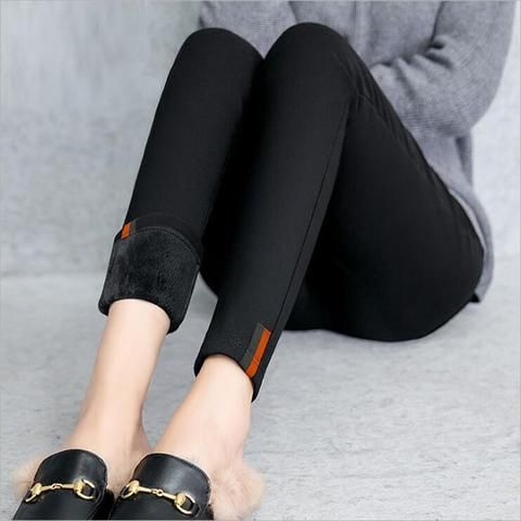 24c6f32a3132f 2018 Winter Leggings Women Thicken Thick Velvet Warm Fitness Legging Plus  Size 5XL Womens Fleece leggins mujer Long Pant Female