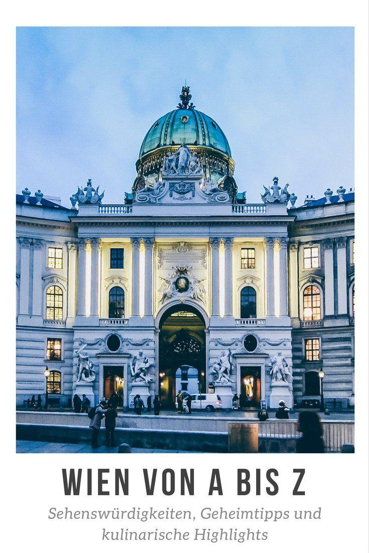 Wien von A bis Z