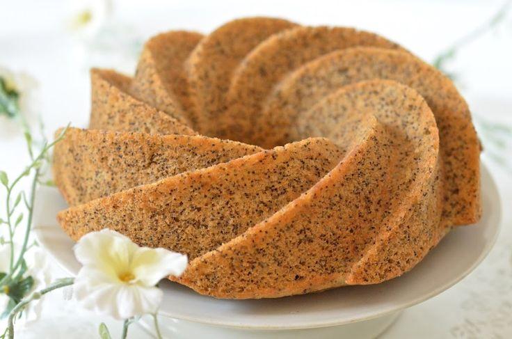 Gâteau au pavot #VEGAN