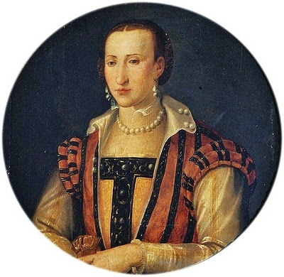 "After Bronzino Eleonora di Garzia di Toledo (1553–1576) often known as ""Leonora"" or ""Dianora"" wife of Don Pietro de' Medici"