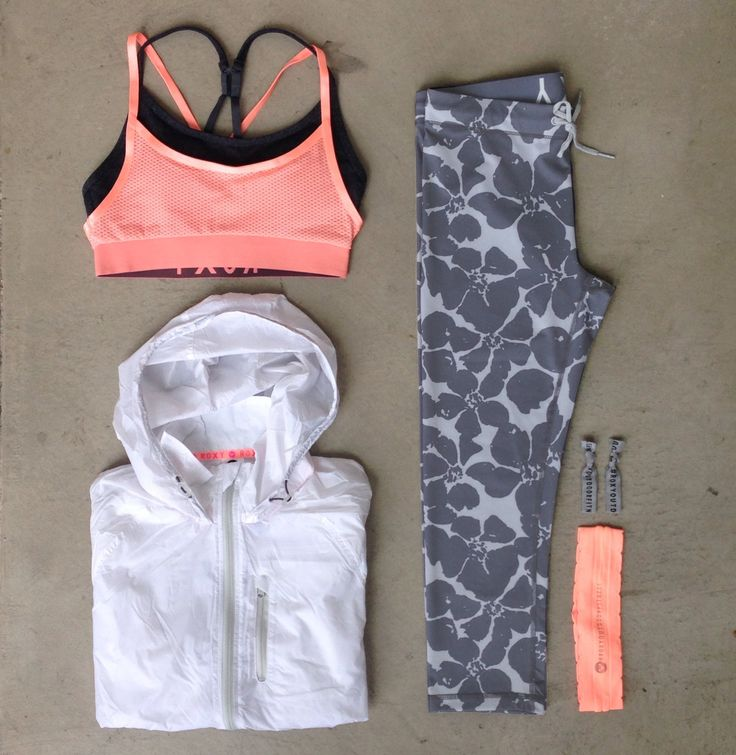 Cute workout outfit: