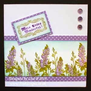 Handmade card. Hobby Art stamps. – My Lisa.B.Designs Cards and Projects