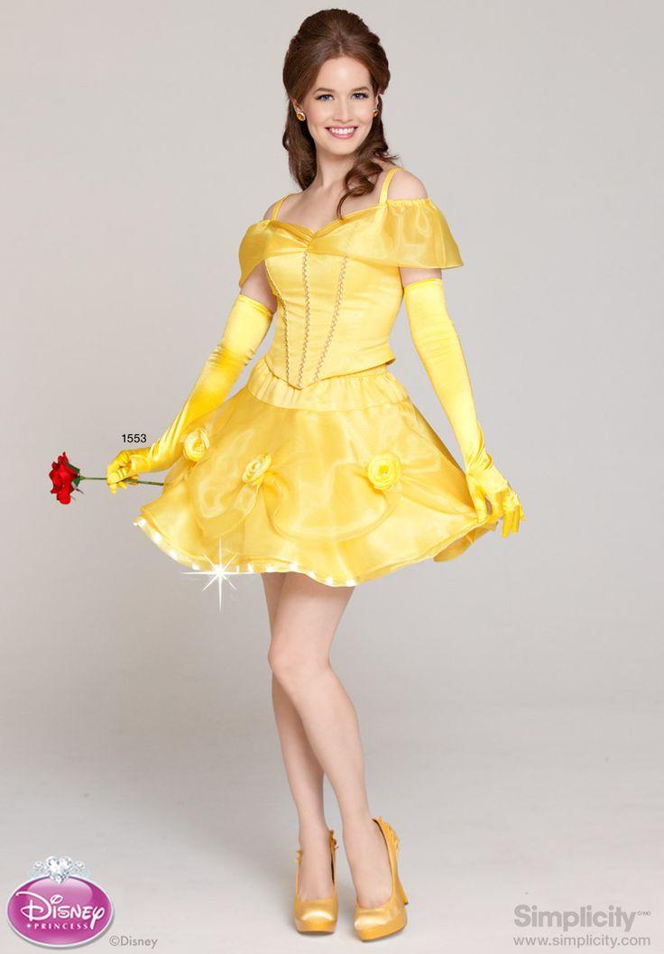 Teen Belle Costume 47