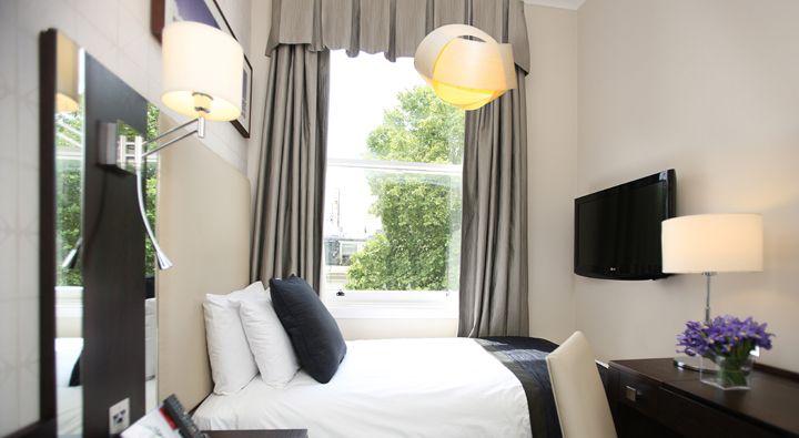 A Standard Single Room at Rydges Kensington London.