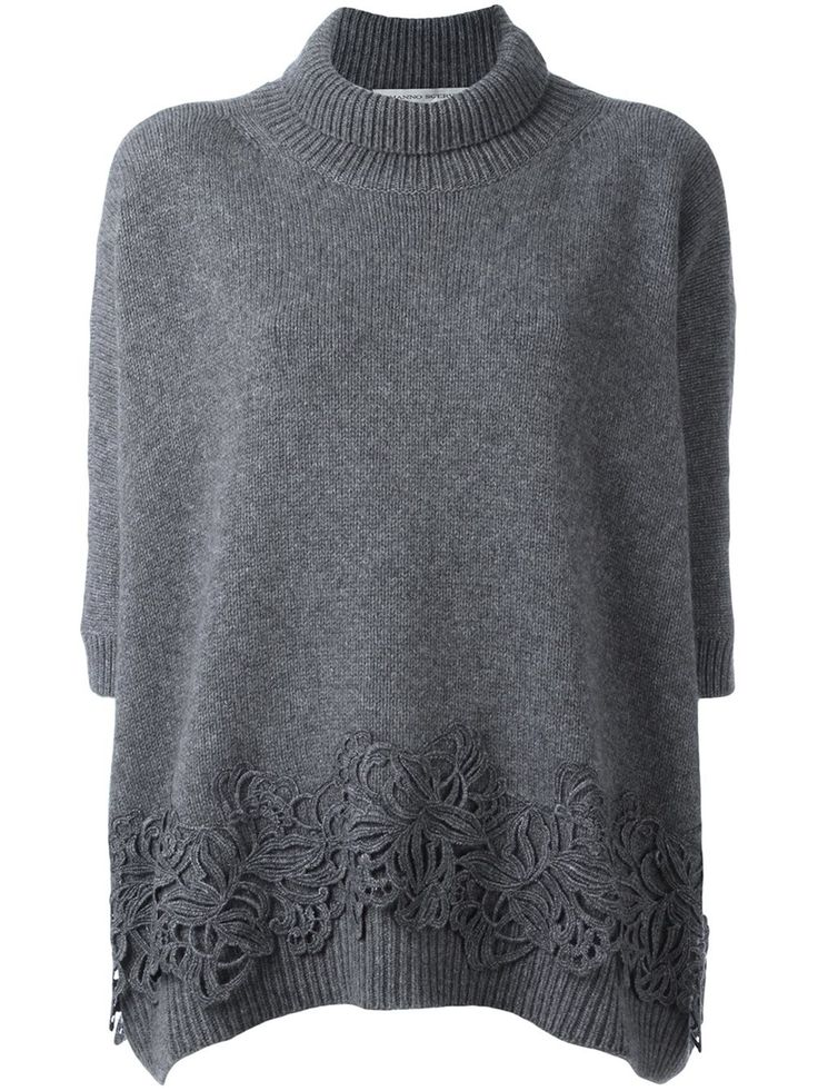 Ermanno Scervino lace applique jumper