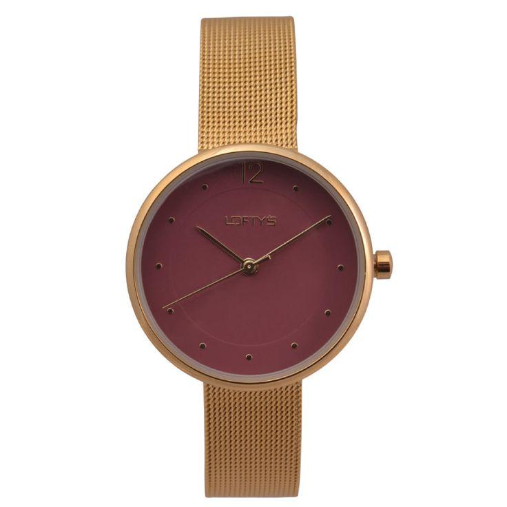 Ladies Watch with Gold Bracelet Y 2008GB - https://www.loftyswatches.com/shop/ladies-watch-with-gold-bracelet-y-2008gb/