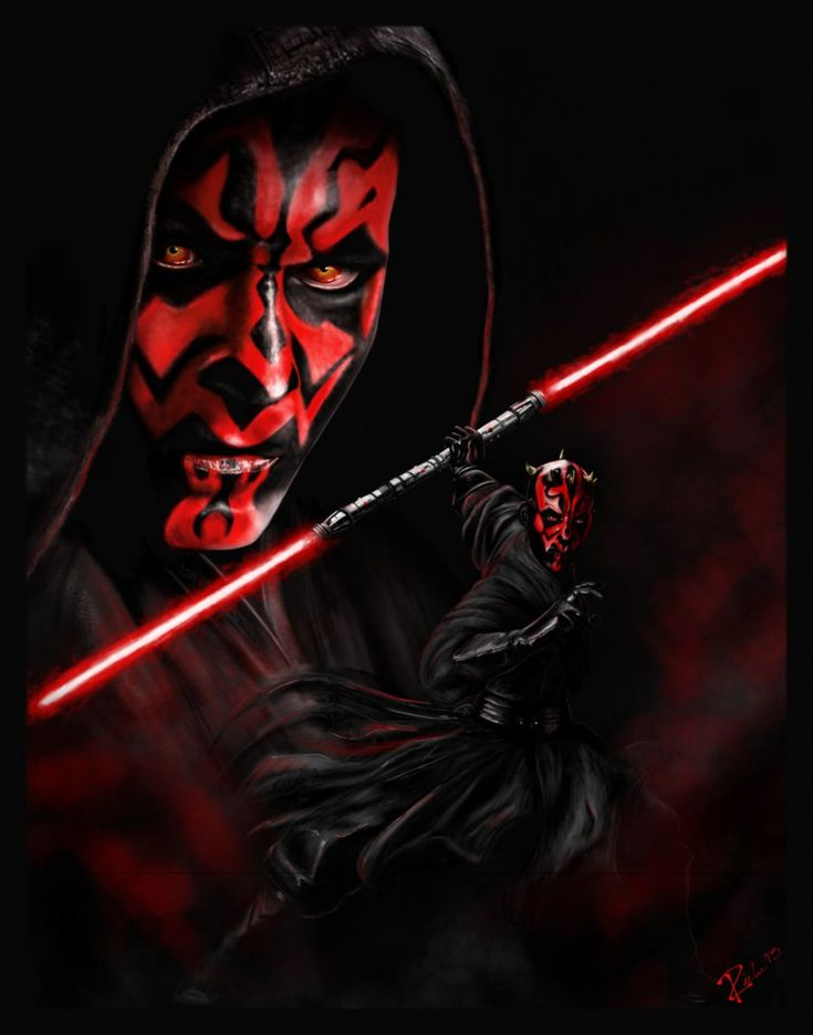 Darth Maul by Serrieous.deviantart.com on @DeviantArt