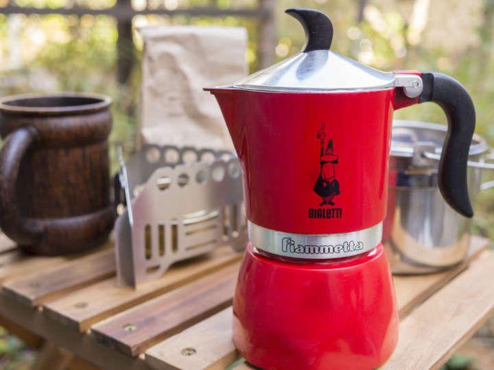 アウトドアでも絶品コーヒー!直火式エスプレッソメーカーは意外と簡単です   &GP