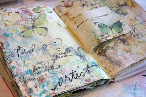 donna DowneyJournals Image, Image Transfer, Art Journals, Jolie Journals