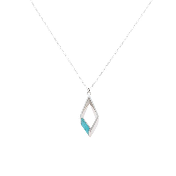 Buy the Imogen Diamond Pendant Necklace at Oliver Bonas. Enjoy free worldwide standard delivery for orders over £50.