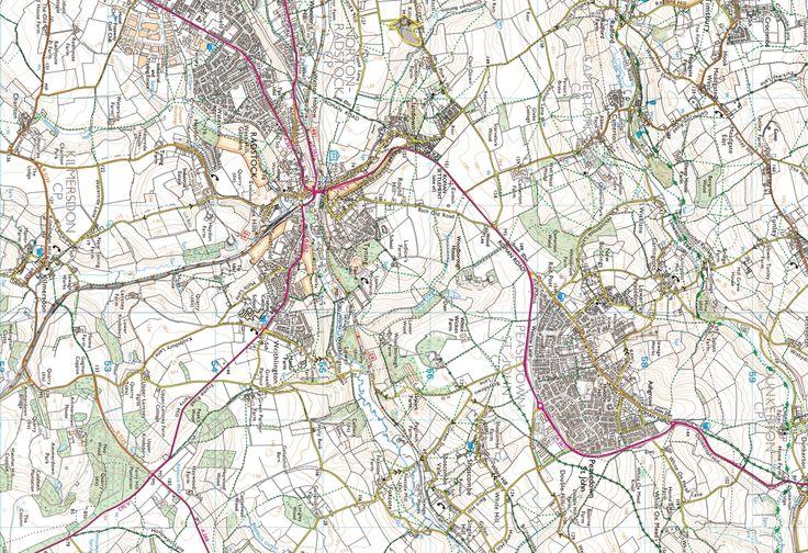 Midsomer Norton & Radstock, Farrington Gurney, High Littleton, Timsbury & Peasedown St John - back of the map