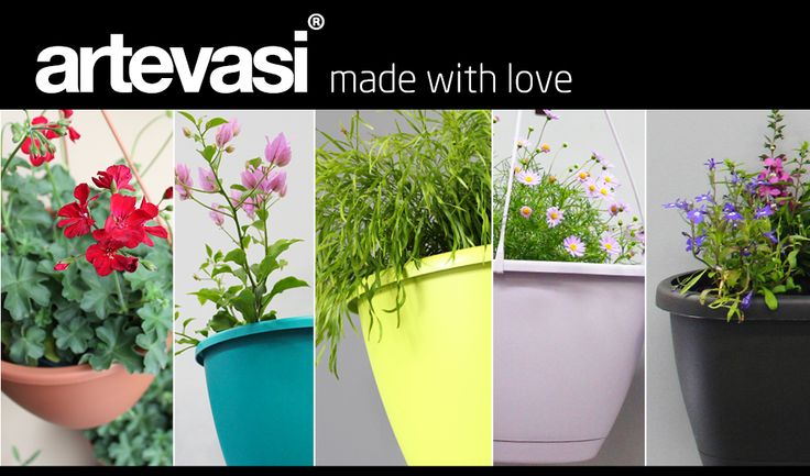 With our new Artevasi range, you don't need to just rely on plants to add a splash of colour to your outdoor room, you can use Artevasi wall plant boxes, pots and hanging baskets too. From tantalizing turquoise to lovely lavender and lime green, they're not just planters they're decorator items. These modern plastic planters are vibrant, stylish and lightweight, so they're perfect for decorating almost any space! http://www.northcotepottery.com/pottery/artevasi