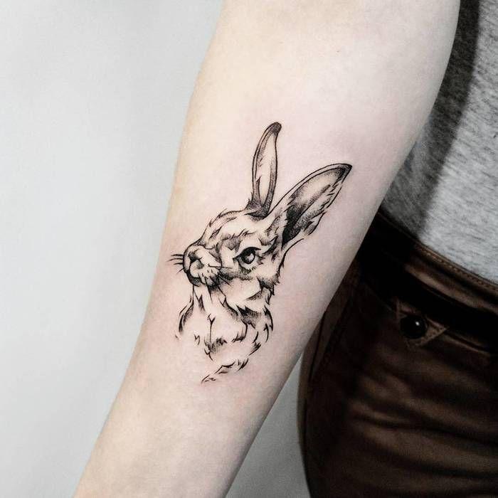 40 Adorable Rabbit Tattoo Design Ideas