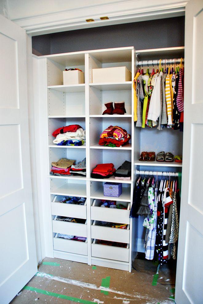 Rambling Renovators   Closet Organization This Looks Like A Nice Closet For  My Bedroom.