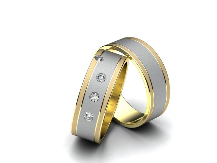 Snubní prsteny R48  #aiola #wedding #rings
