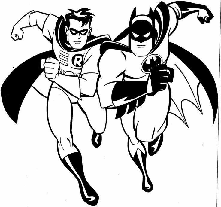 batman pictures to color | Free Printable Batman Coloring Pages For Kids