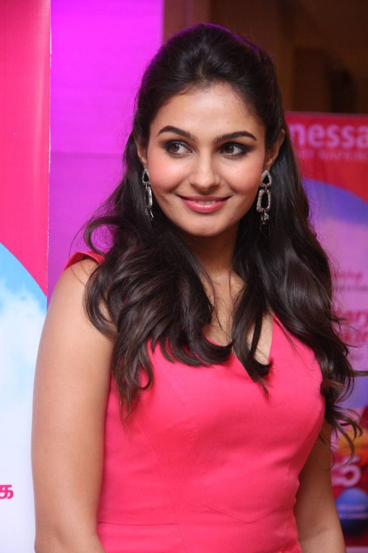 Andrea Jeremiah Latest Cute Beautiful Photos In Pink Dress - Tollywood Stars