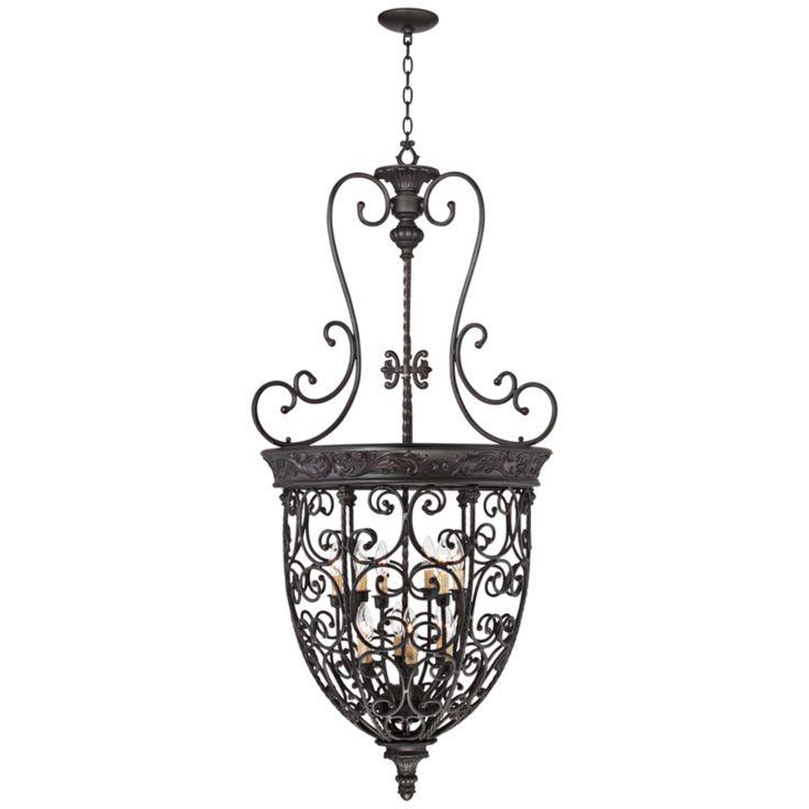 Open Scroll Foyer Chandelier : Best chandeliers images on pinterest