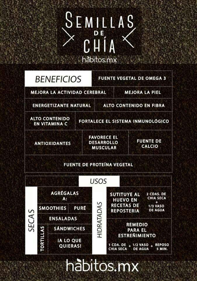 Semillas de Chia, nueva adquisición nutricional