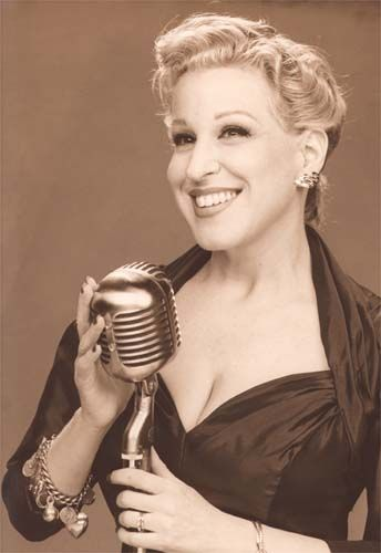 Bette Midler (American singer actress comedian) She was first noted for her mezzo soprano singing, an act mix of singing and comical relief. Her movies she is known for The Rose, Ruthless People, Beaches, For The Boys, The Stepford Wives, Gypsy and The First Wives Club.