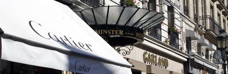 hotel westminster paris. fa fa fa