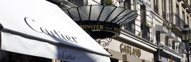 Warwick Hôtel Westminster. They offer a honeymoon package, too :)