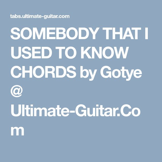 52 Best Mes Chords Images On Pinterest