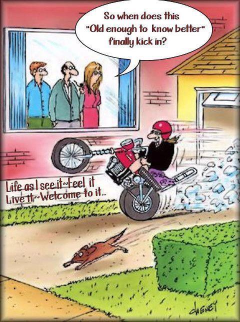 Elderly Cartoon Humor ...