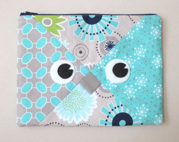 Sale Owl Pencil Case Sewing Pattern PDF Tutorial by MyFunnyBuddy, $3.00 - very cute!