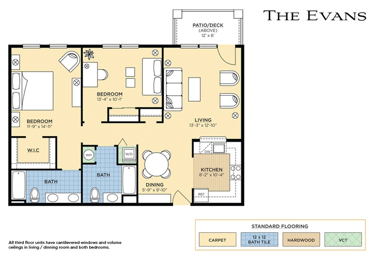 The Evans Floorplan
