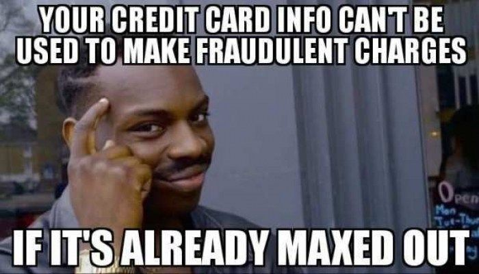 20 Humorous Credit Card Memes That Will Have You Crying Super