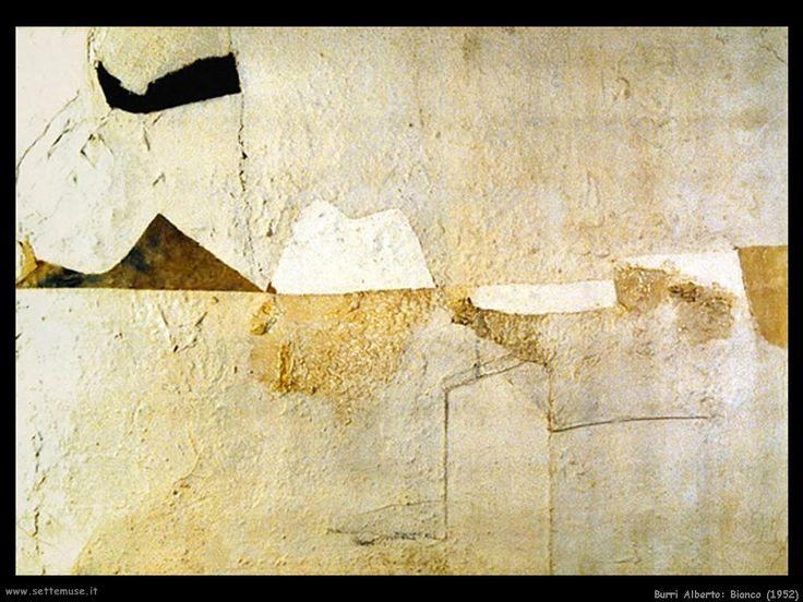 Resultado de imagen para Alberto Burri Bianco