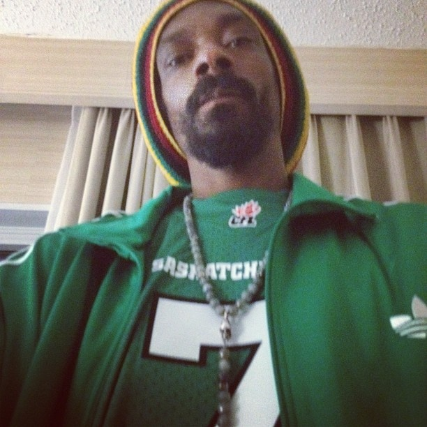 The picture Snoop Dog tweeted.