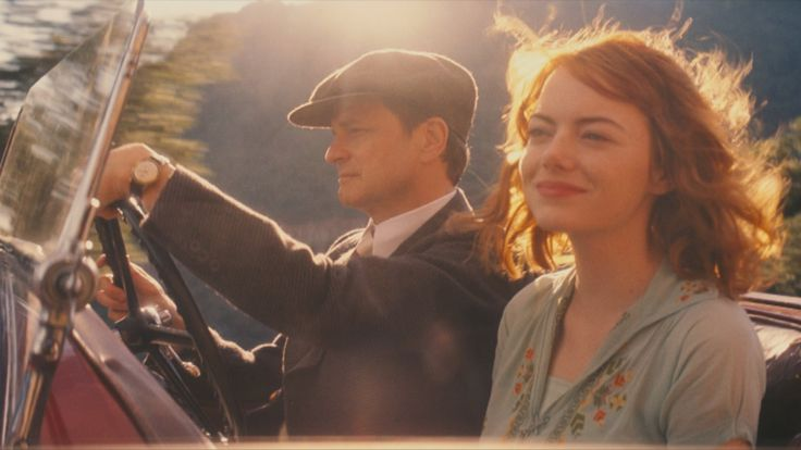 Colin Firth and Emma Stone in Magic in the Moonlight (2014), Dir. Woody Allen