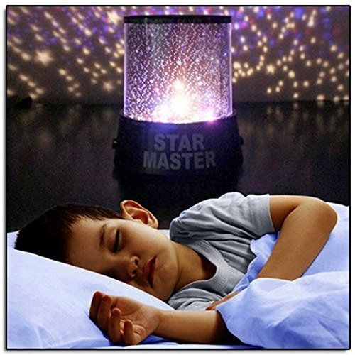 Amazing Aeeque Amazing Romantic LED Night Light Projector Lamp, Colorful Star Master Light, Bedside Lights(with USB Cable)