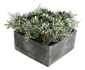Composizione artificiale con vaso Oslo - h 12 cm