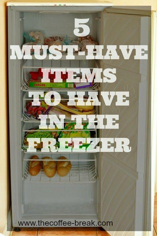 5-freezer-must-haves @ www.thecoffee-break.com