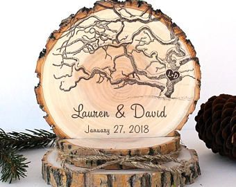 Rustic Wedding Cake Topper. Old Branched Tree Cake Topper. Rustic Wood Cake Topper. Rustic Cake Topper. Rustic Wedding