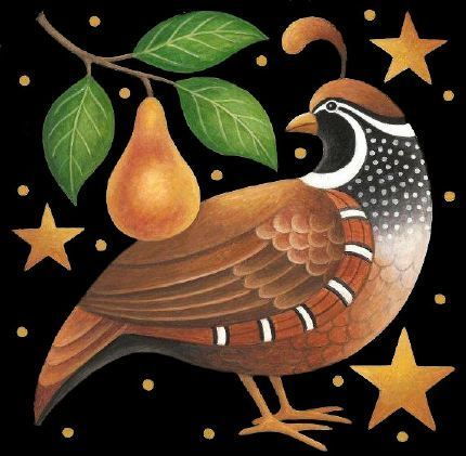 Holiday Partridge ~ by Stephanie Stouffer A Christmas tradition in our family....sadly now disappeared ....m