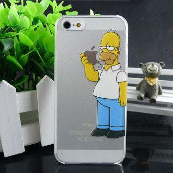 Funda iPhone 4/4S – Homer Simpson [4,90€] Envío gratis