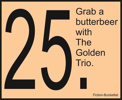 .Buckets Lists, Book, Potter Fiction Bucketlist, Harry Potter, Prejudiced Fictionalbucketlist, Fiction Buckets, Fiction Bucketlisti, Fictionbucketlist, Golden Trio