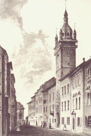 Brno1842 - Stará radnice (Brno) – Wikipedie