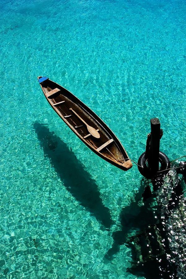 Maratua Island, Borneo. Indonesia