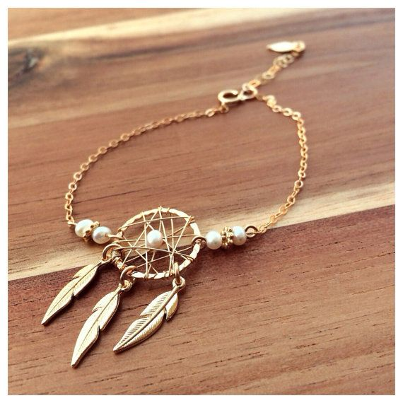 dream catcher bracelet by HilaJewels on Etsy                                                                                                                                                                                 More