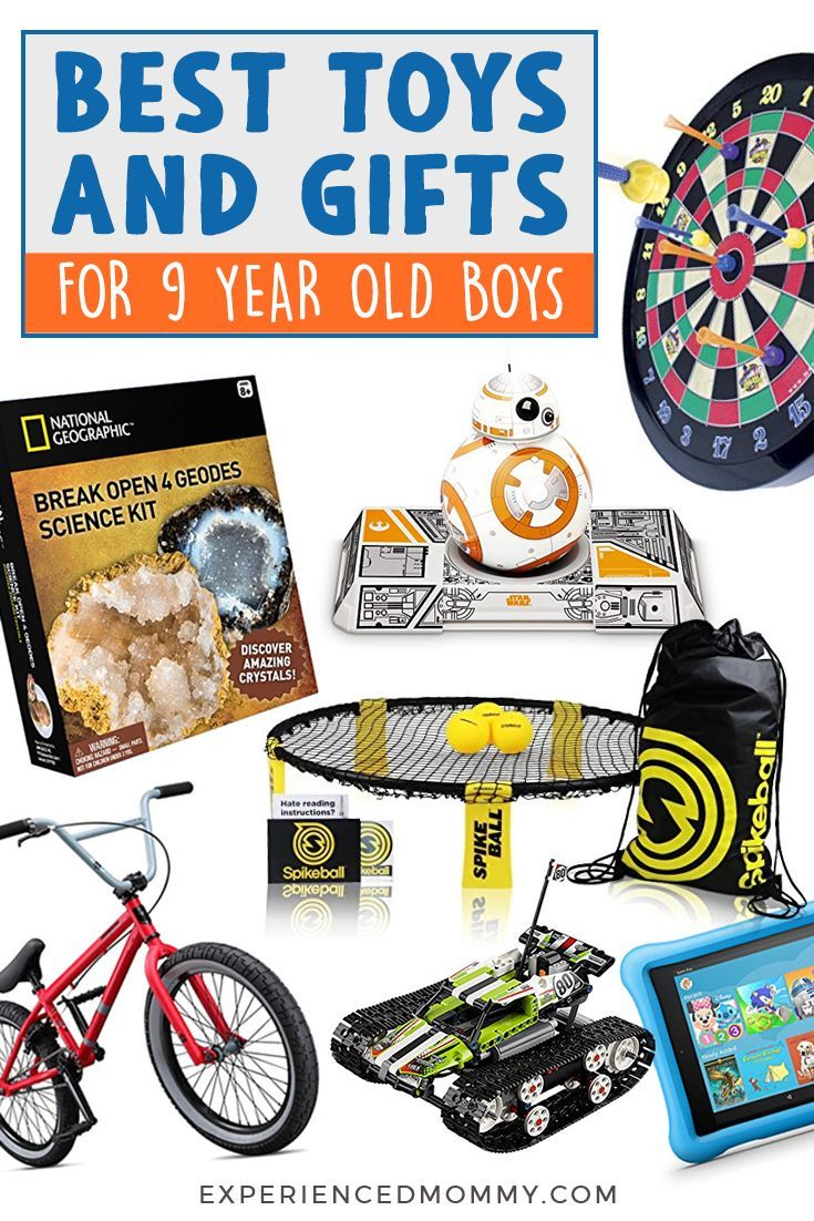 Gift Ideas For 9 Year Old Boy Birthday References