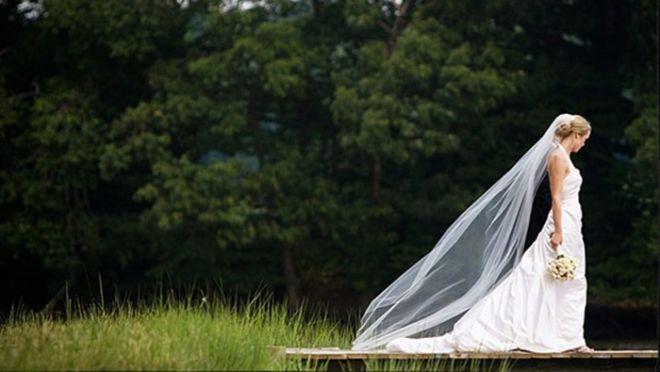 Bride Walking In Woods - Google Search