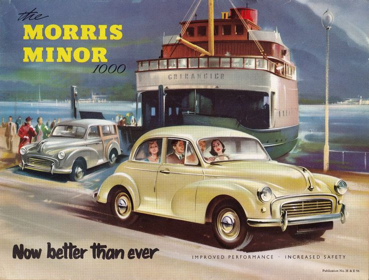 1956 Morris Minor - Canadian