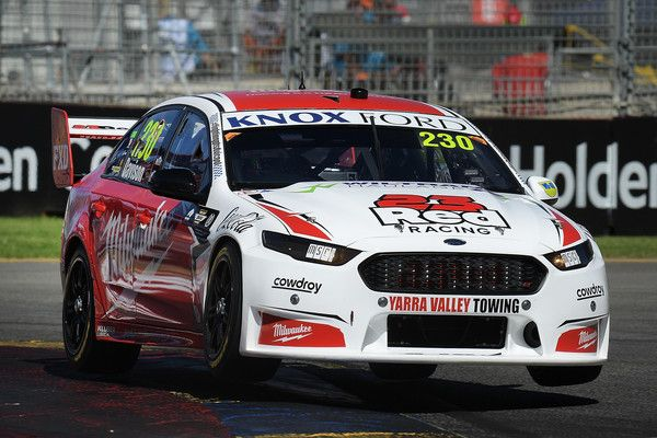 Will Davison Drives The 230 Milwaukee Racing Ford Falcon Fgx During