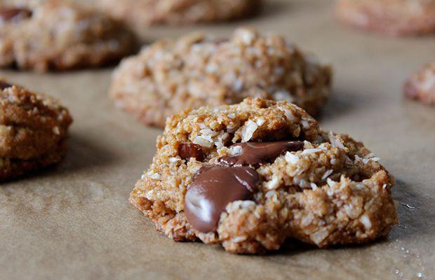 Crispy-Coconut-Butter-Paleo-Cookies